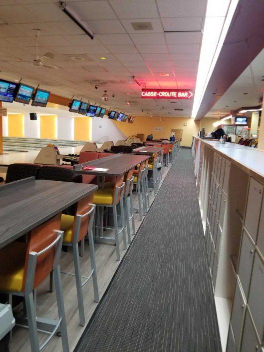 Bowling centre reonvaions - Riverrain