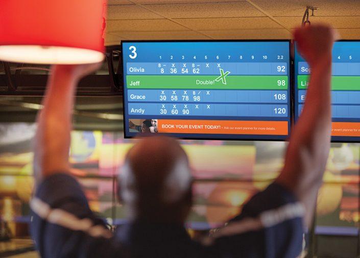 Brunswick Sync Results Striker Bowling