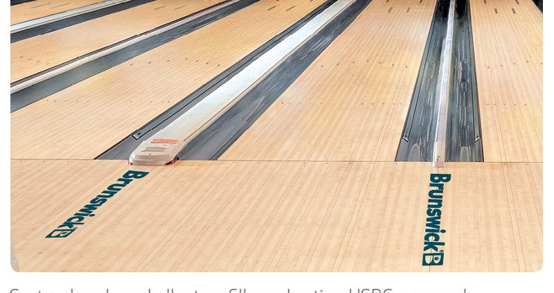 Summer Bowling Lane Maintenance