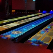 Brunswick Spark interactive bowling